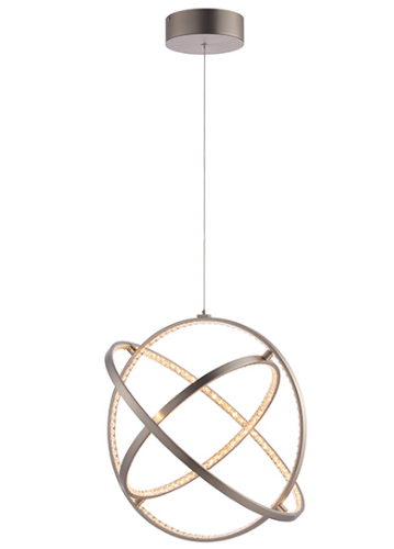 Eternity Three Hoop 1lt Pendant 40w Warm White