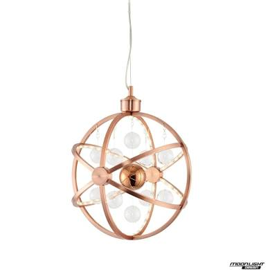 Muni 390mm pendant 7.5W warm white
